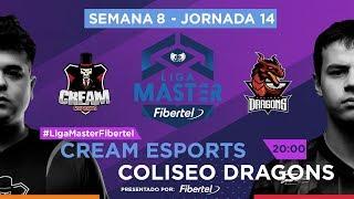 Cream Esports VS Coliseo Dragons | Jornada 14 | Liga Master Fibertel 2019