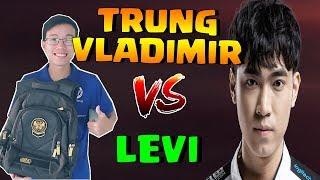 Trung Vladimir vs Levi - Solo mid lane rank THÁCH ĐẤU !