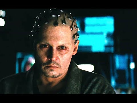 Johnny Depp Is A Terrifying AI In 'Transcendence'