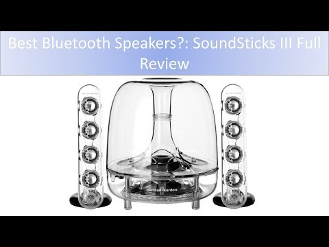 HARMAN KARDON SoundSticks III Wireless Bluetooth: Full Review + Full Sound Tests