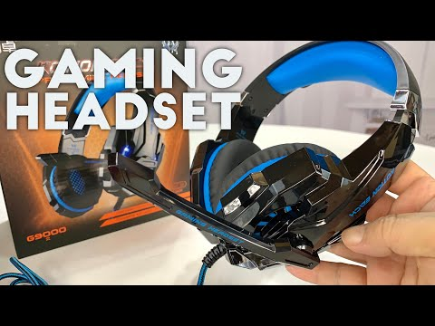 Noise Cancelling Stereo Gaming Headset by BENGOO G9000 Review