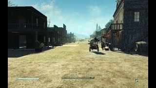 Fallout 4 Western Town Settlement