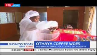 Othaya coffee farmers are crying foul for being denied the  full benefits of their toil