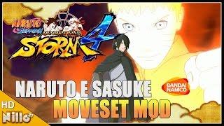 Naruto Storm 4, Mod Naruto e Sasuke ADULTOS Dual Moveset/ Mod Espetacular - Nillo21.