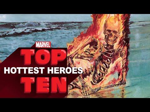 Top 10 Hottest Heroes -- Marvel Top 10s