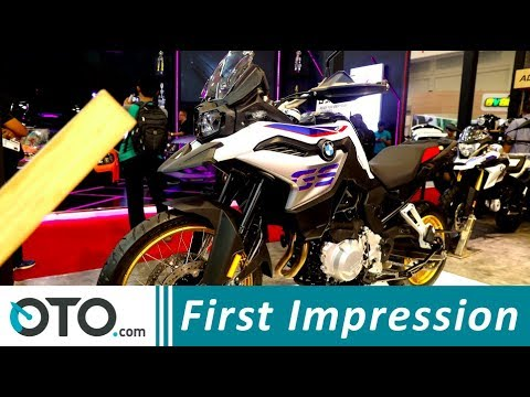 BMW F850GS | First Impression | GIIAS 2018 | OTO.com