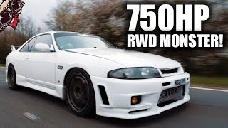 🐒 BIG POWER R33 RIPS THE STREETS! SKYLINE GTST REVIEW
