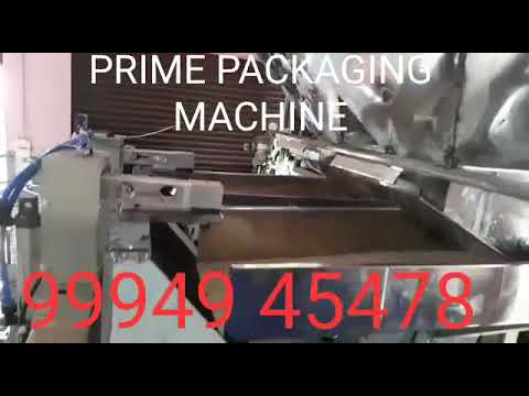 Automatic Dry Fish Pouch Packing Machine