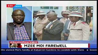 MP Gachagua:Despite the humiliation he was accorded at Uhuru park,Moi gracefully handed over power