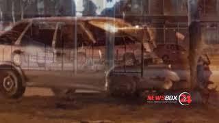 В Фокино сотрудник полиции на служебном автомобиле учинил серьезное ДТП со сбитым пешеходом
