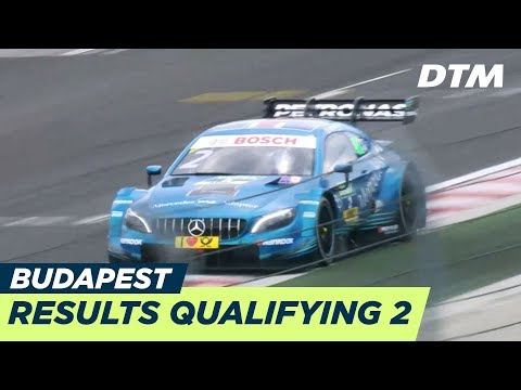 4 x Mercedes at the last second - Results Qualifying 2 - DTM Budapest 2018