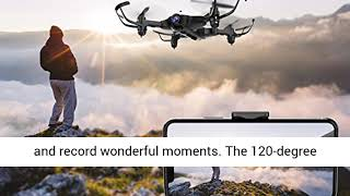 DROCON Ninja Drone for Kids & Beginners FPV RC Drone with 720P HD Wi-Fi Camera,Quadcopter Drone