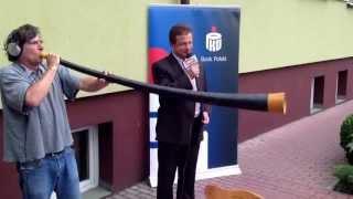 preview picture of video 'Krzysztof Skowronski gra na ligawce'