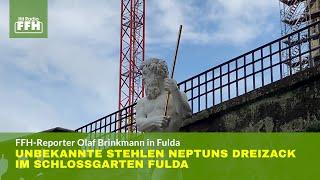 Fulda: Unbekannte stehlen Neptuns Dreizack