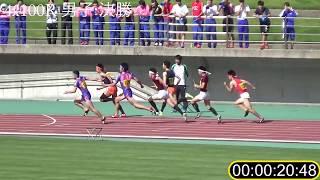 鳥取県高校総体2018男子4x100mR決勝大会記録