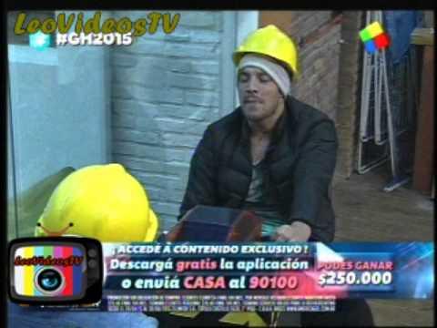 Matias Vs Francisco nuevo enfrentamiento durante la prueba semanal GH 2015 #GH2015 #GranHermano