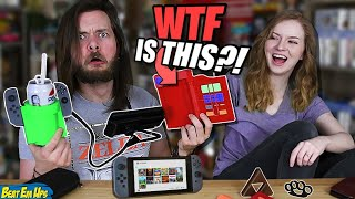 My Girlfriend Buys My WEIRD Nintendo Switch Accessories!