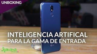 LG K40, UNBOXING: INTELIGENCIA ARTIFICIAL para la GAMA DE ENTRADA