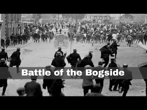 12th August 1969: The Battle of the Bogside in Derry, Northern Ireland
