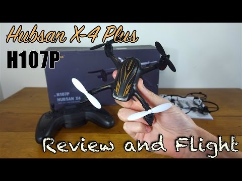 Hubsan X4 Plus H107P Review and Flight