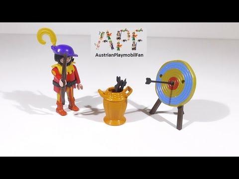 Vidéo PLAYMOBIL Special Plus 4762 : Archer avec cible