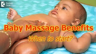 Is it essential to have massages for babies? When to start the baby massage? - Dr. Jacksy Robert CJ