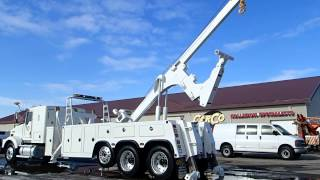 KENWORTH T800 AATAC TITAN 50T 25 TON INTEGRATED HEAVY DUTY TOW TRUCK FOR SALE BY CARCO