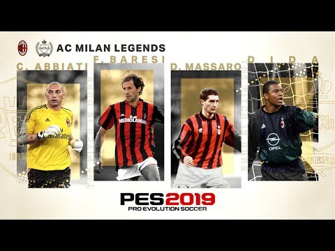PES 2019 - AC Milan Legends Trailer