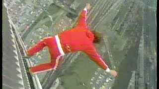 Dar Robinson jumped off the CN Tower in Toronto
