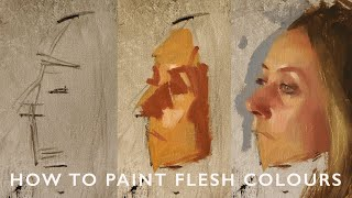 How to Paint Flesh Colours Using the Zorn Palette with Alex Tzavaras