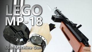 LEGO MP-18 (WW1 Sub-Machine Gun)