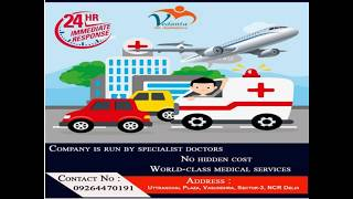 Avail best Rescue Facility Air Ambulance Service in Jabalpur