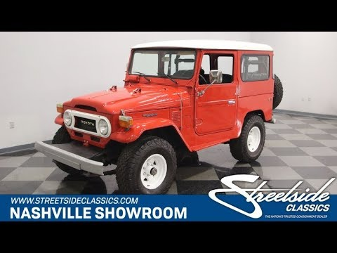 Video of '76 Land Cruiser FJ - QT5E