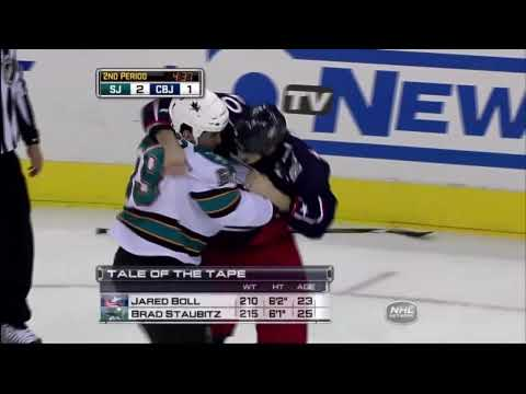 Brad Staubitz vs Jared Boll