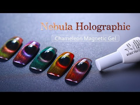 New Arrivals! Holographic Chameleon Magnetic Cat Eye Gel Polish-Tutorial