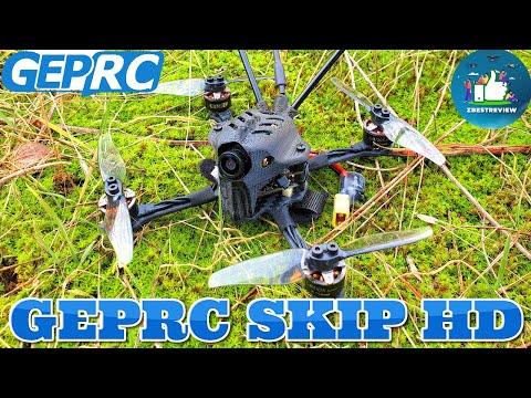 ✅ FPV Квадрокоптер Geprc SKIP HD 3   118mm Caddx Baby Turtle V2   Полет 8 Минут!