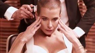 Юлия Высоцкая подстриглась налысо потому что
