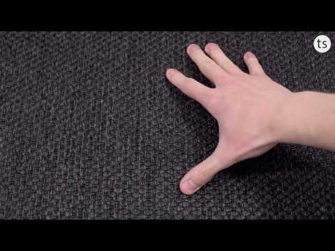 Benny Teppichboden Dänisches Flachgewebe in schwarz,grau,beige,schwarz,anthrazit und 400cm Breite