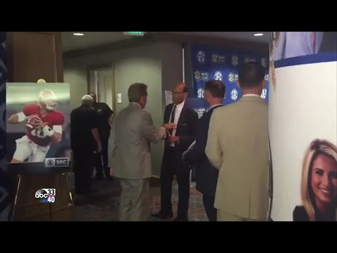 Nick Saban, Paul Finebaum conversation at SEC Media Days