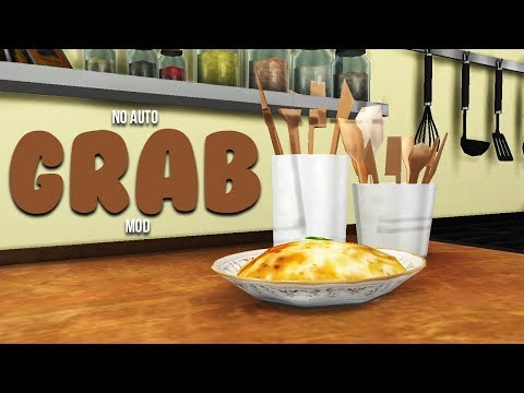 No Auto Food Grab Mod The Sims 4 Mods Steemkr