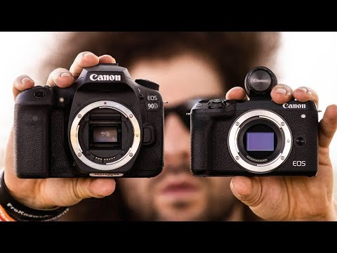 External Review Video Y830p94Hg1c for Canon EOS M6 Mark II APS-C Mirrorless Camera