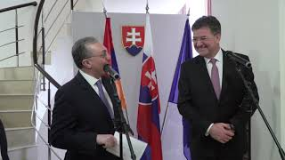 On the opening of the Embassy of the Slovak Republic in Yerevan