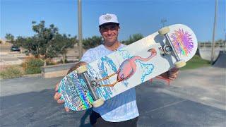 8.25 x 31.83 McCOY 'FLAMINGO' TWIN TIP VX PRO MODEL DECK PRODUCT CHALLENGE!   Santa Cruz Skateboards
