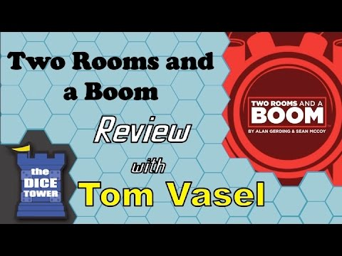 Dice Tower Reviews: Two Rooms and a Boom