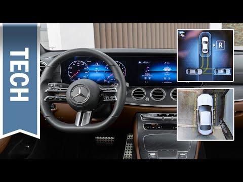 Mercedes E-Klasse: Neue Parktronic parkt nach Linien ein- Test, Nutzen & Grenzen des Parkpakets
