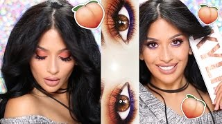 KYLIE THE ROYAL PEACH PALETTE Tutorial  Irenesarah