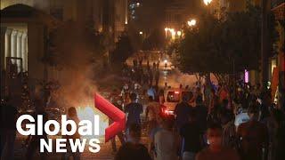 В Ливане начались протесты — требуют отставки правительства. Видео