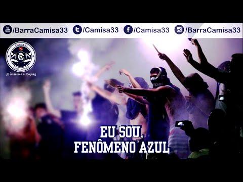 """""""Eu sou fenômeno azul"""" Barra: Camisa 33 • Club: Remo"""