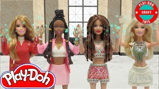 "Play Doh Little Mix  "" Black Magic"" Inspired Costumes"