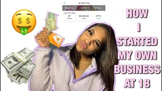 HOW TO BECOME YOUR OWN BOSS! YOUNG ENTREPRENEURS  | TIPS & MORE